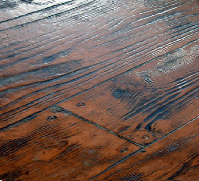 Wood Pattern Stamped Concrete Pattern : Concrete patters offered