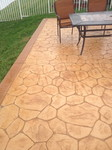 stamp concrete patio