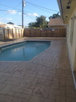 stamp concrete pool deck