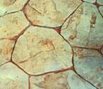 Random Stone concrete stamp pattern